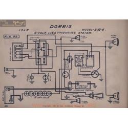 Dorris I A 4 6volt Schema Electrique 1915 Westinghouse V2