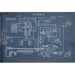 Dorris I A 4 6volt Schema Electrique 1915 Westinghouse