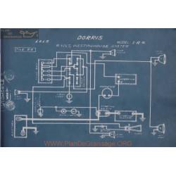 Dorris I A 6 6volt Schema Electrique 1915 Westinghouse