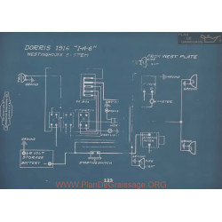 Dorris I A 6 Schema Electrique 1916 V2