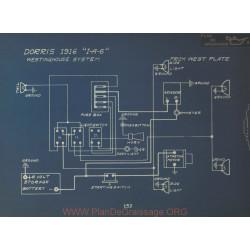 Dorris I A 6 Schema Electrique 1916 Westinghouse