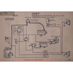 Dort 10 12 Ac 15 17 6volt Schema Electrique 1921 Westinghouse