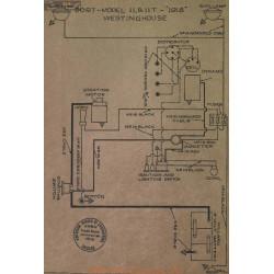 Dort 11 11t Schema Electrique 1918 Westinghouse