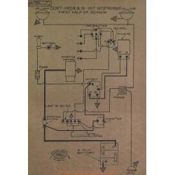 Dort 6 9 Schema Electrique 1917 Westinghouse