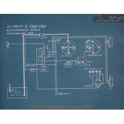 Dupont A Schema Electrique 1920 1921
