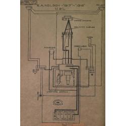Ea Nelson Schema Electrique 1917 1918 Usl