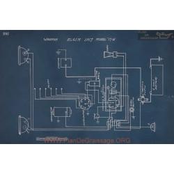 Elgin 17 6 Schema Electrique 1917