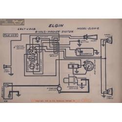 Elgin 6 6volt Schema Electrique 1917 1918 Wagner V2