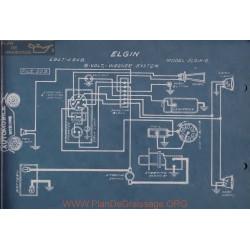 Elgin 6 6volt Schema Electrique 1917 1918 Wagner