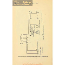 Elgin 6 E 16 Schema Electrique 1917 Delco