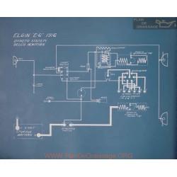 Elgin E6 Schema Electrique 1916