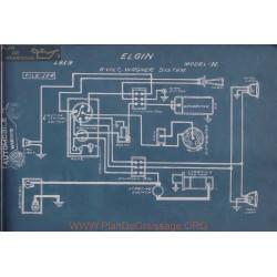 Elgin H 6volt Schema Electrique 1919 Wagner