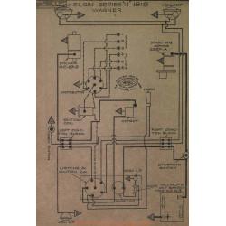 Elgin H Schema Electrique 1919 Wagner