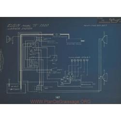 Elgin H Schema Electrique 1920 Wagner