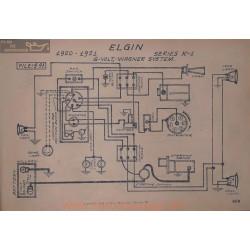 Elgin K L 6volt Schema Electrique 1920 1921 Wagner