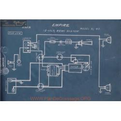 Empire 31 40 12volt Schema Electrique 1915 Remy