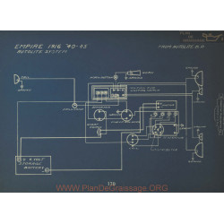 Empire 40 45 Schema Electrique 1916 Autolite