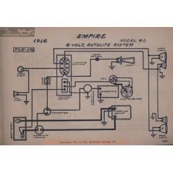 Empire 40 6volt Schema Electrique 1916 Autolite V2