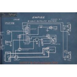 Empire 40 6volt Schema Electrique 1916 Autolite