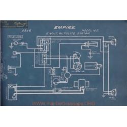Empire 45 6volt Schema Electrique 1916 Autolite