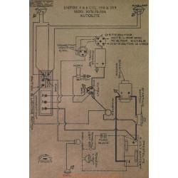 Empire 4cyl 6cyl 50 51 70 70a Schema Electrique 1918 1919 Autolite