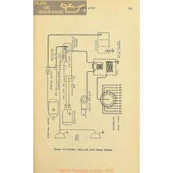 Enger 12cyl Schema Electrique 1916 1917 Remy