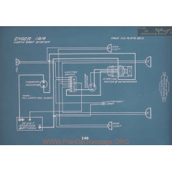 Enger All Models Schema Electrique 1914