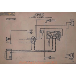 Ford 12volt Schema Electrique 1917 1918 Fishep