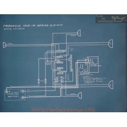 Franklin 2 D H M Schema Electrique 1913 1914