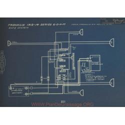 Franklin 2 D N M Schema Electrique 1913 1914 Entz