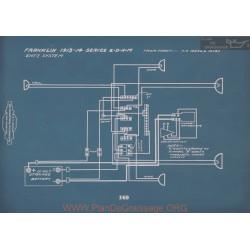 Franklin 2 D N M Schema Electrique 1913 1914