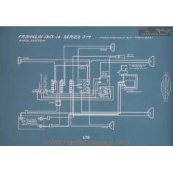 Franklin 3 M Schema Electrique 1913 1914