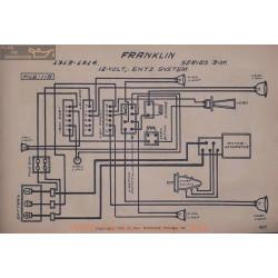 Franklin 3m 12volt Schema Electrique 1913 1914 Entz