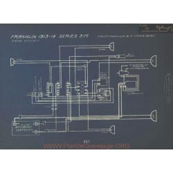 Franklin 3m Schema Electrique 1913 1914 Entz