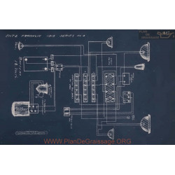Franklin 4 Schema Electrique 1913