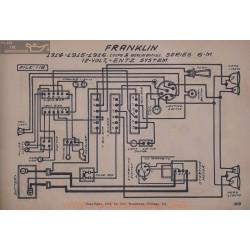 Franklin 6m 12volt Schema Electrique 1914 1915 1916 Entz