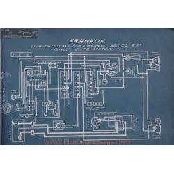Franklin 6m Coupe Berlin Bidies 12volt Schema Electrique 1914 1915 1916 Entz