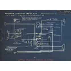 Franklin 6m Schema Electrique 1914 1915 1916 Entz