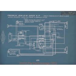 Franklin 6m Schema Electrique 1914 1915 1916