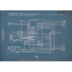 Franklin 6m Sedan Schema Electrique 1914 1915 1916 V2
