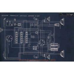 Franklin 7 8 Schema Electrique 1915 1916