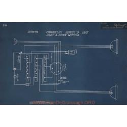 Franklin 8 Light Horn Schema Electrique 1917
