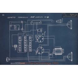 Franklin 8 Schema Electrique 1916