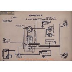 Gardner G 6volt Schema Electrique 1920 Westinghouse V2
