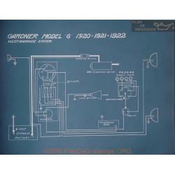 Gardner G Schema Electrique 1920 1921 1922
