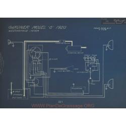 Gardner G Schema Electrique 1920 Westinghouse