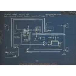 Glide 30 7389 To 7698 Schema Electrique 1915 Westinghouse