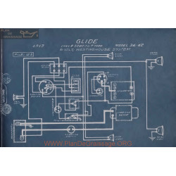 Glide 36 12 6volt Schema Electrique 1913 Westinghouse