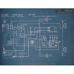 Glide 36 42 5282 Schema Electrique 1913 1914