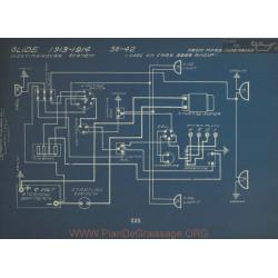 Glide 36 42 Schema Electrique 1913 1914 Westinghouse